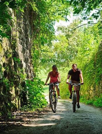 Radfahren und Natur