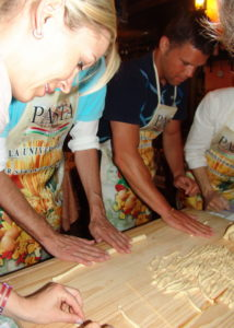 Mediterranean cooking course plus language course in Italy
