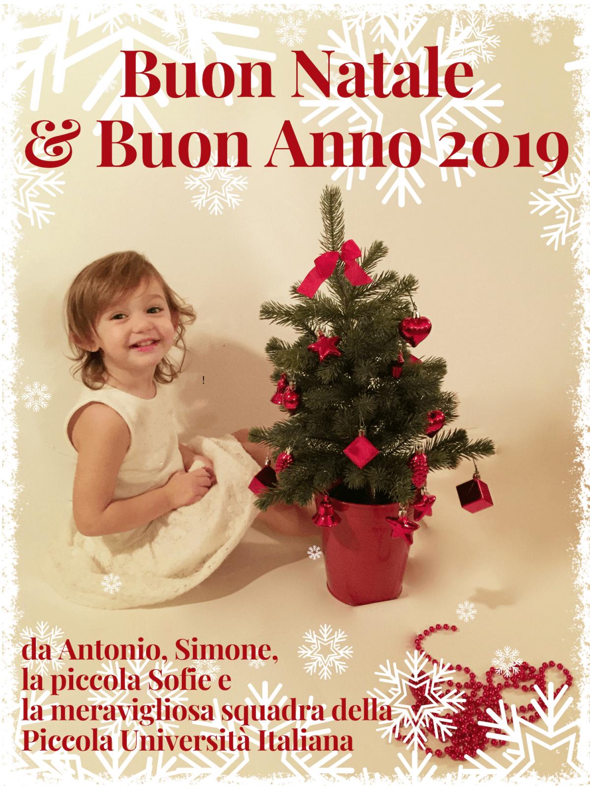 Buon Natale e Felice Anno 2019