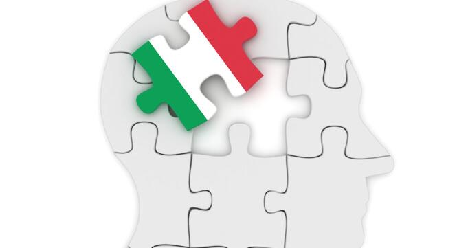 Italian language in your brain