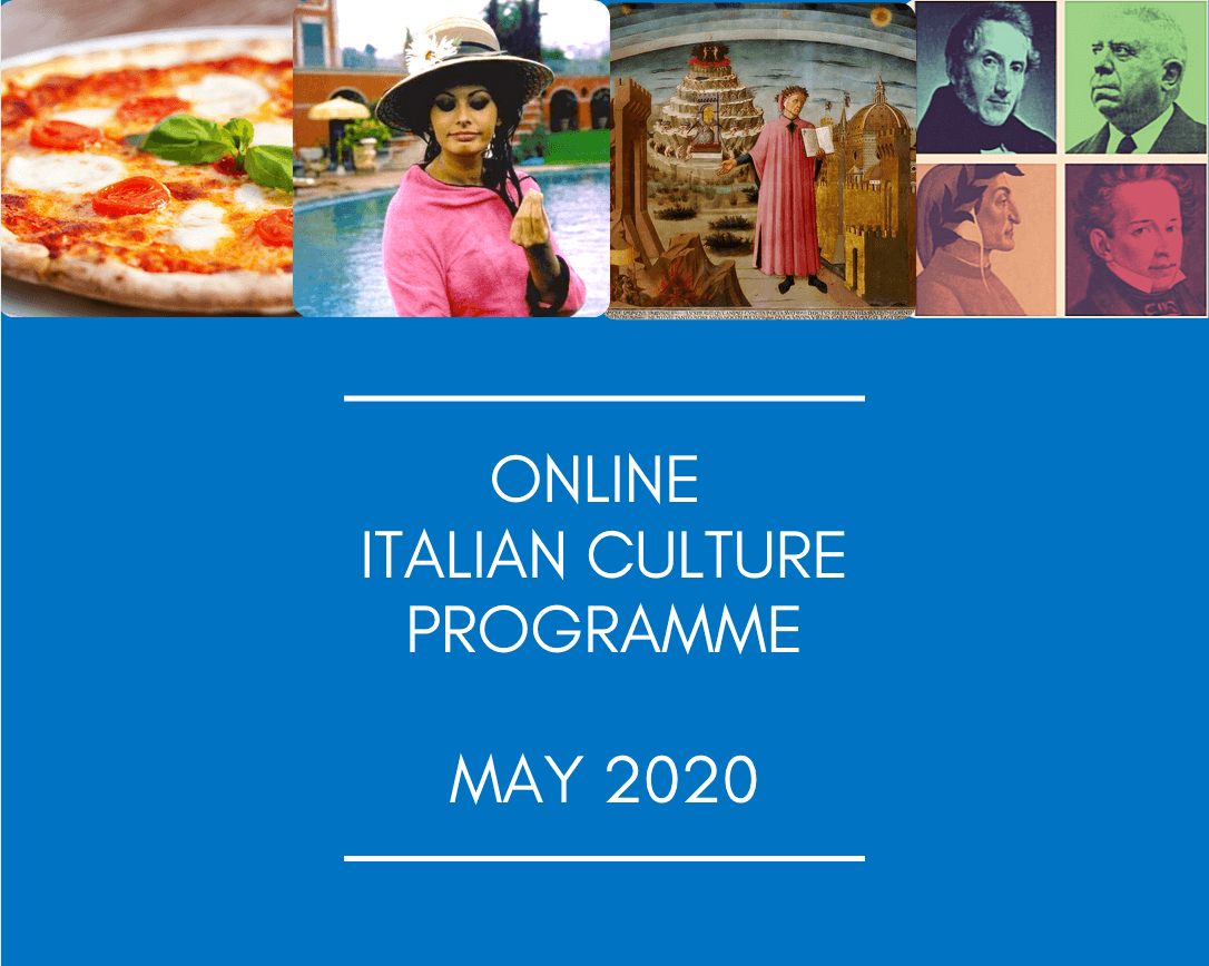 Online Italian Culture Programme – May 2020
