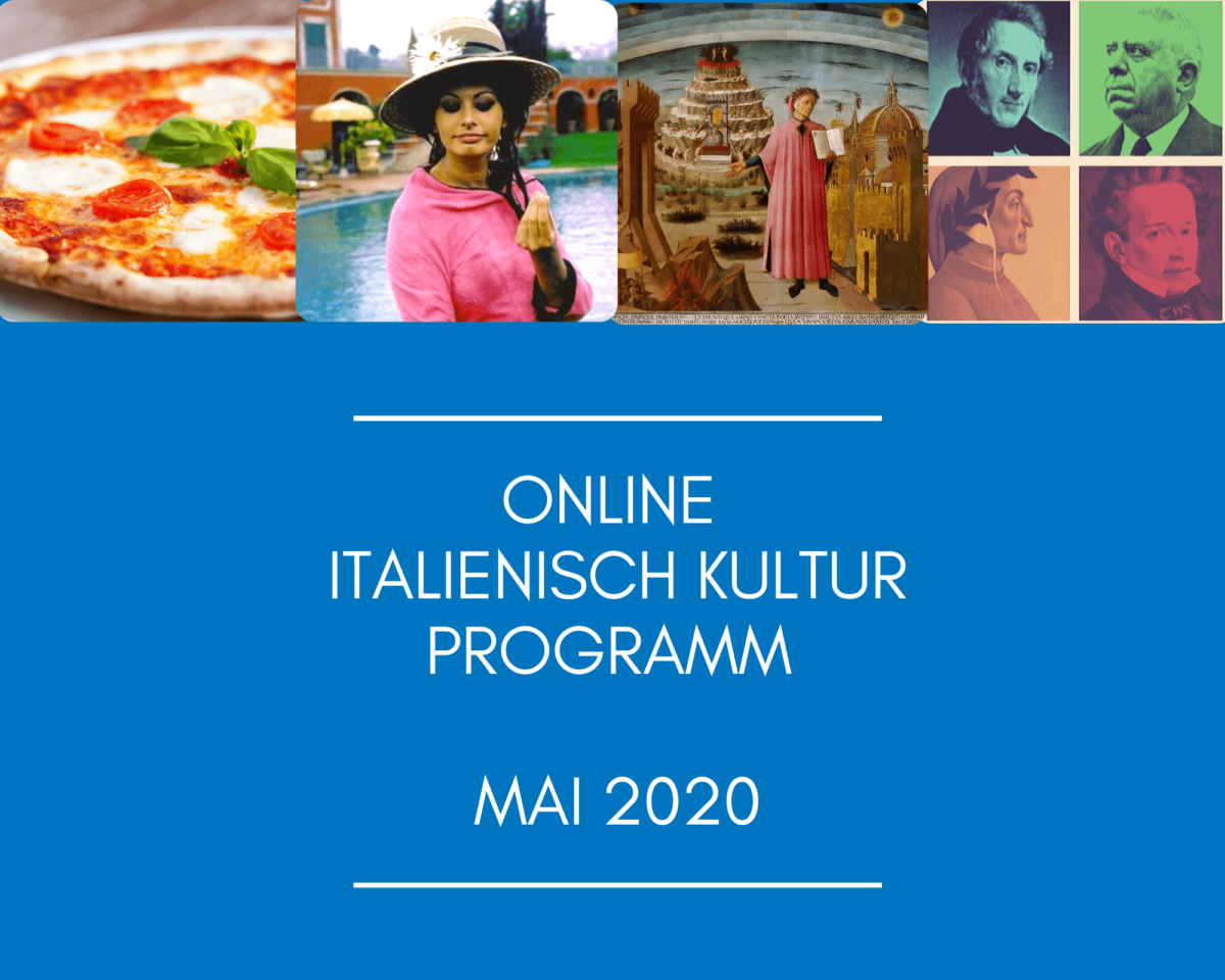 Online Italienisch Kulturprogramm – Mai 2020