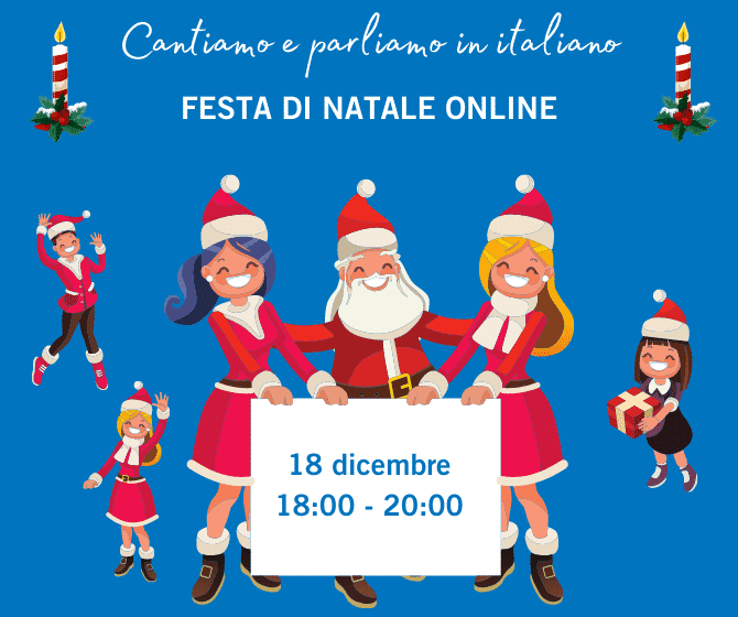 FESTA DI NATALE ONLINE + A TRIESTE